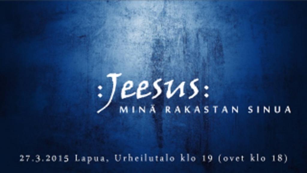 Jeesus: minä rakastan sinua