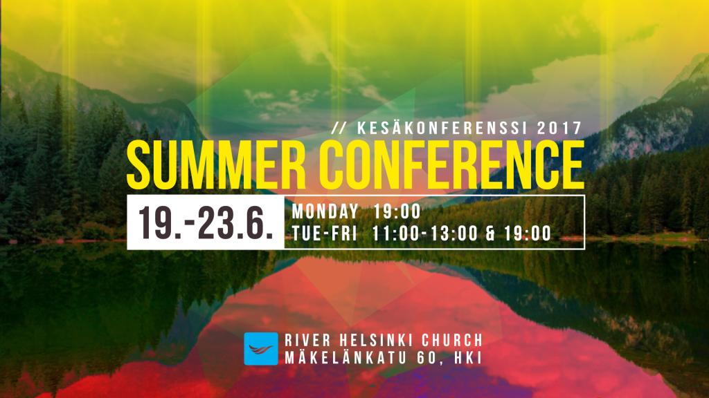 River - Summer Conference