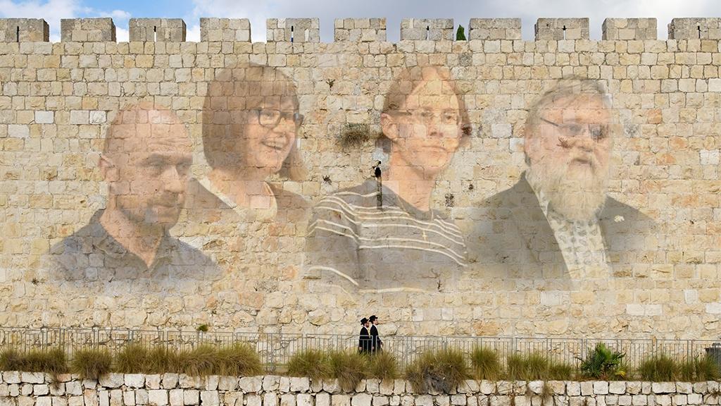Shalom över Israel - Tillbaka till Jerusalem