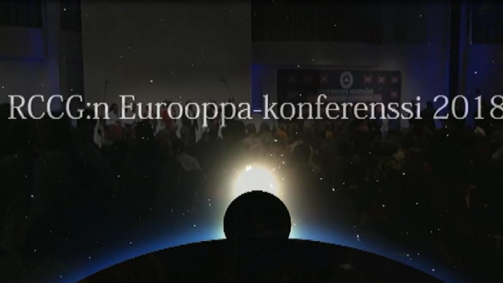 RCCG:n Eurooppa-konferenssi 2018