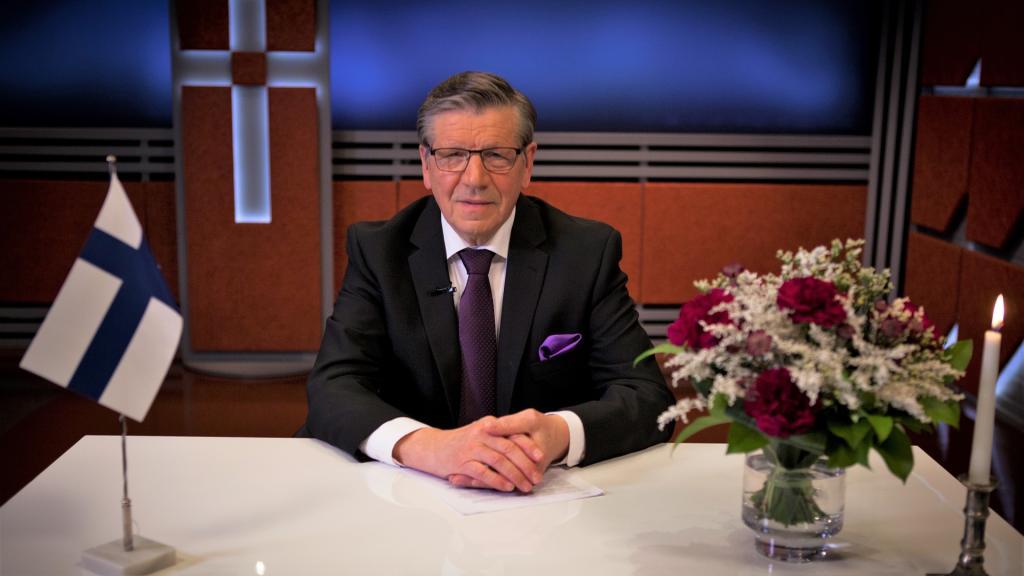 Новогодняя речь президента ТВ7 2018