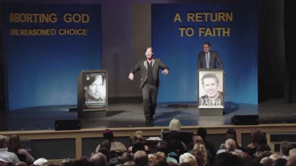 Menetettyään poikansa syövälle maailmankuulu ateisti Sol Harkens omistaa elämänsä ateismille. Hän nauttii kristityille aiheuttamastaan tappiosta julkisissa debateissa mutta on kuitenkin sisäisesti tyhjä.