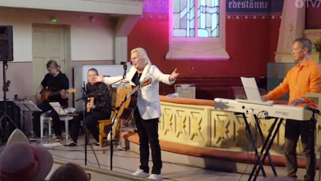René konsertti Joensuun Gospelfestarit