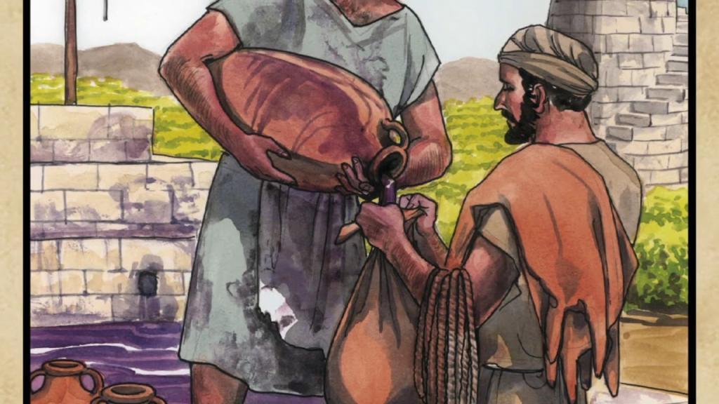 Матфея 9:14-17
