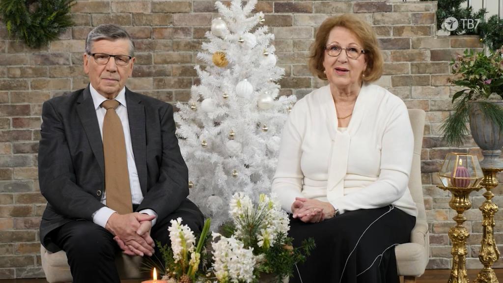 Рождественское поздравление от Мартти и Мирьи
