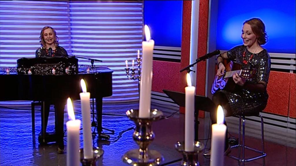 Lauletaan yhdessä joululauluja – Hannah & Rachel