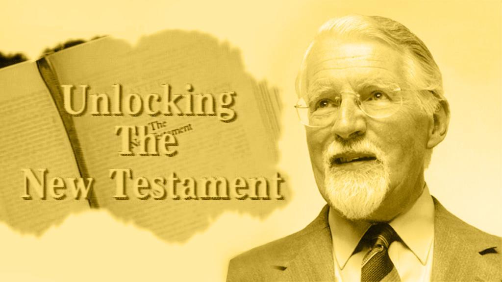 Uusi testamentti avautuu