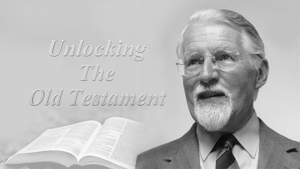 Vanha testamentti avautuu