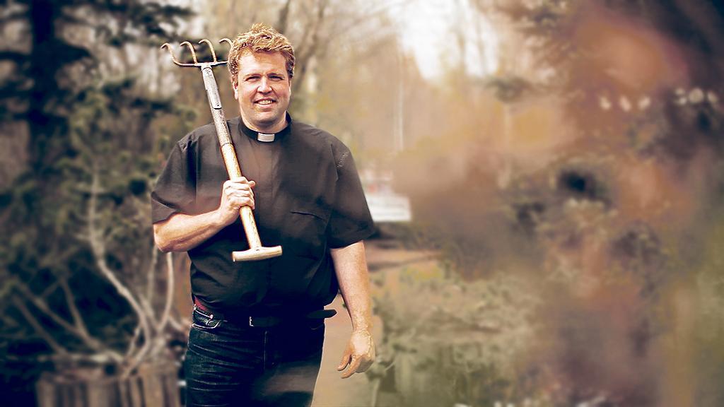 Präst och trädgårdsmästare