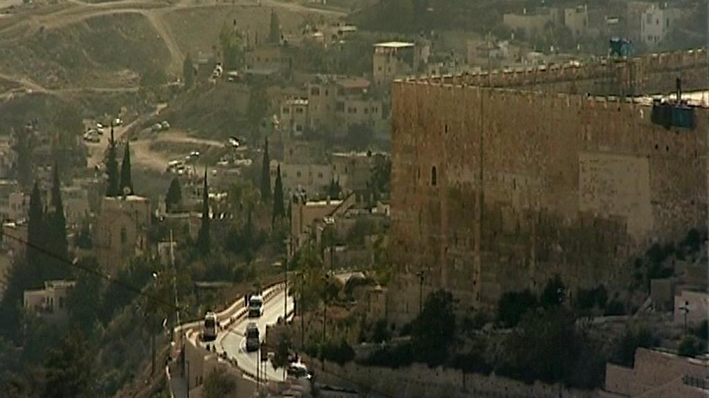 Jerusalem - kansojen loukkauskivi