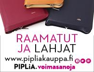 Suomen Pipliaseura kevätbanneri 2015