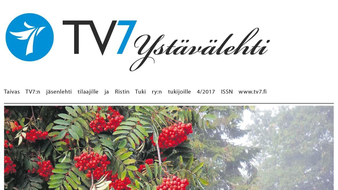 TV7 Ystävälehden postituksessa ongelmia