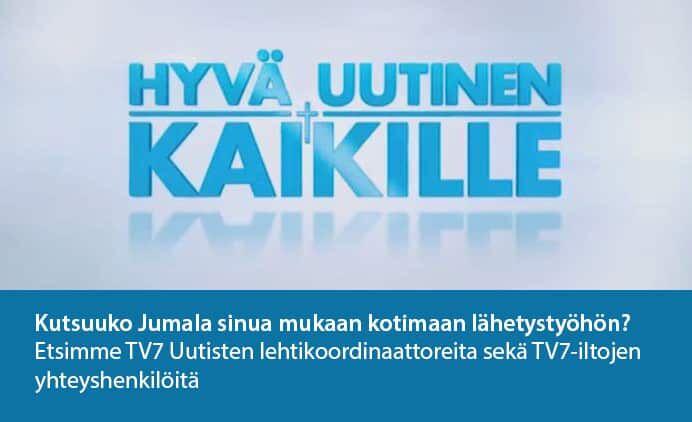 Hyvä uutinen kaikille -seminaari 16.6. klo 12.30 Helsingissä